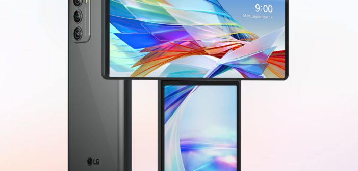 LG má podivný telefon s druhým vyklápěcím displejem