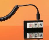 Tato klávesnice umí jen to nejhlavnější: Ctrl+C a V